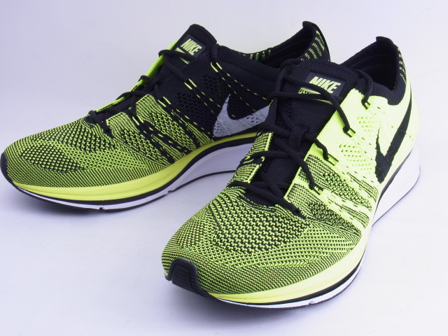 sports shoes d208c 2dda9 YELLOW Nike   NIKE FLYKNIT TRAINER+BLK フライニット trainer plus HTM ...