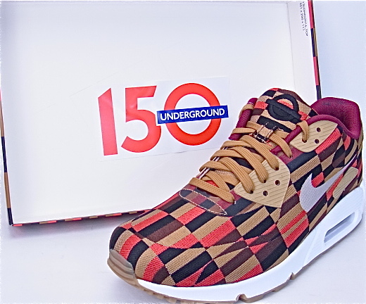 NIKE AIR MAX 90 LUX JCRD SP ROUNDEL BY LONDON Kie Ney AMAX 90 luxury special London 651,322 106