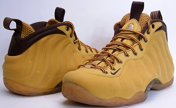 huge discount 701ac 7bc56 NIKE AIR FOAMPOSITE ONE PRM WHEAT Nike form posit one premium wheat color  575420-700