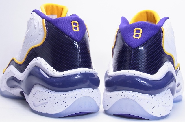 9e5a49826c28 NIKE AIR ZOOM FLIGHT 96 Los Angeles Lakers Kobe Nike Air Zoom flight 96  Lakers colors Corby 317980-100