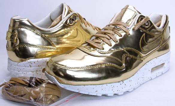 big sale fdf9a 9a7ad Categories. « All Categories · Shoes · Women s Shoes · Sneakers · NIKE AIR  MAX 1 SP LIQUID METAL GOLD ...