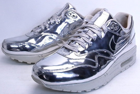 huge selection of 87b8a 50d4e NIKE AIR MAX 1 SP LIQUID METAL SILVER METALLIC SILVER METALLIC GOLD-SL Nike  ...