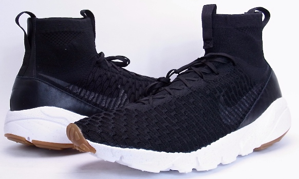 NIKE AIR FOOTSCAPE MAGISTA SP Black Nike Air foot Cape Magister specials  652960-009 WOVEN