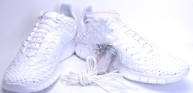 c2e39894f13b NIKE FREE INNEVA WOVEN TECH SP White Nike free and woven tech specials  705797-110