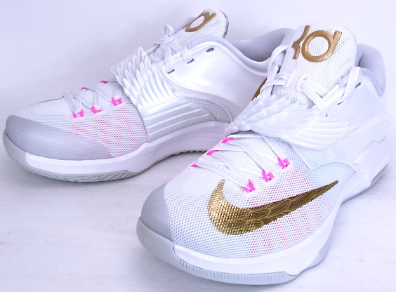promo code b7fdd 6a7be NIKE KD VII PRM AUNT PEARL Nike KD7 premium Ant Pearl 706858-176 ...