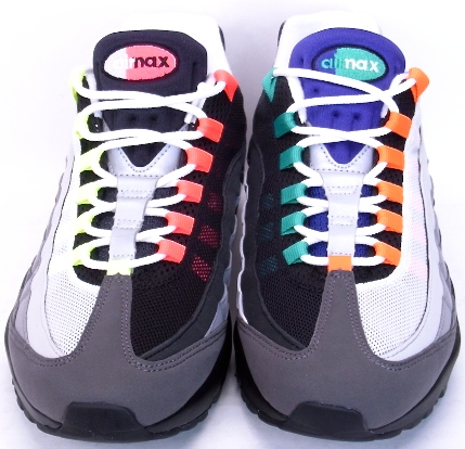 NIKE AIR MAX 95 OG QS GREEDY WHAT THE AIR MAX 95 20th anniversary Nike Air Max 95 OG quick strike greedy fat the Air Max 95 20 years anniversary 810374-078