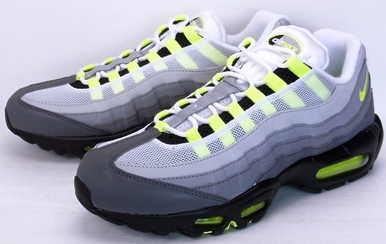 NIKE AIR MAX 95 OG PREMIUM Reflective 20th anniversary Nike Air Max 95 OG premium reflector yellow grade 20th anniversary commemorative 759986 070