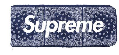 2017 Ss Supreme The North Face Bandana Dolomite 3s 20 Sleeping Bag Navy Bags