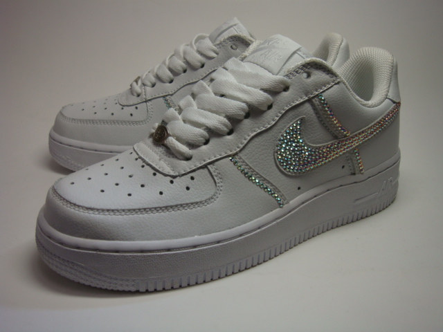 07c7cda66859 TONNEAU  NIKE AIR FORCE 1 SWAROVSKI Remake Sneaker