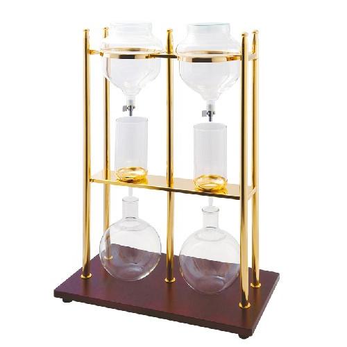 取寄品/日付指定不可 カリタ 水出し器 ゴールドW (10人用×2)