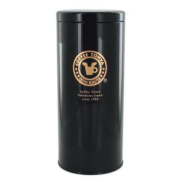 珈琲問屋 オリジナル缶キャニスター 大サイズ 直径95×225mm 約500g用 定価 贈与
