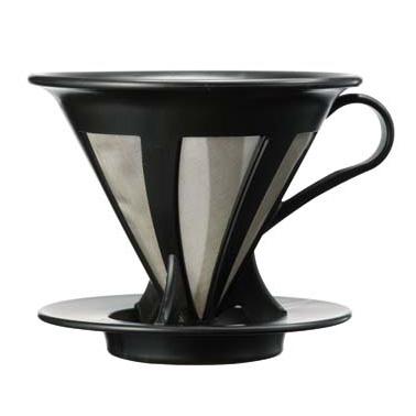 ハリオ カフェオールドリッパー 当店は最高な サービスを提供します 超激安 CFOD-02B ブラック 1~4杯用
