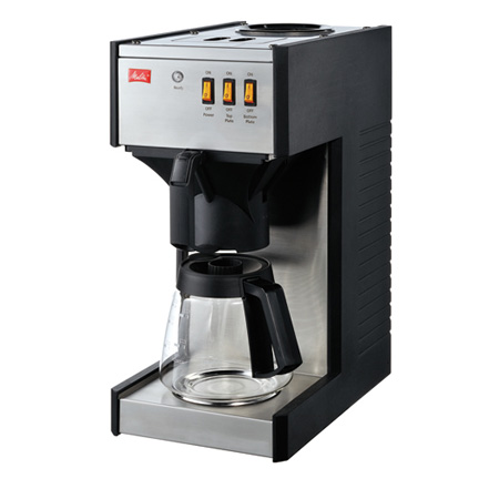 取寄品/日付指定不可 メリタ 業務用コーヒーメーカー M150P ピラミッドフィルター型