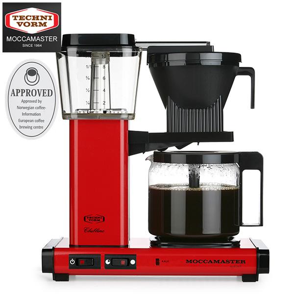 モカマスター コーヒーメーカー (レッド) MM741AO-RD 取寄品/日付指定不可