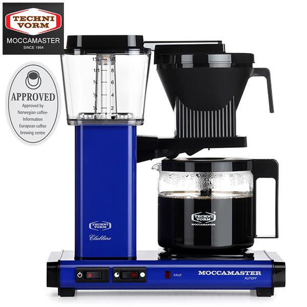 モカマスター コーヒーメーカー (ロイヤルブルー) MM741AO-RB 取寄品/日付指定不可