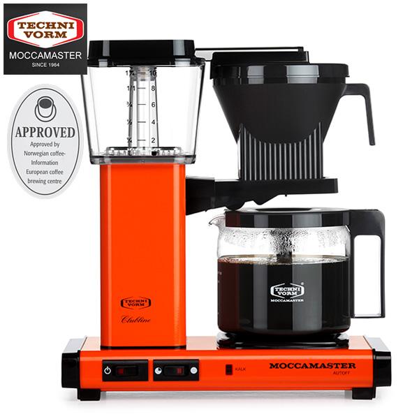 モカマスター コーヒーメーカー (オレンジ) MM741AO-OR 取寄品/日付指定不可