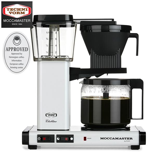モカマスター コーヒーメーカー (メタリックホワイト) MM741AO-MW 取寄品/日付指定不可