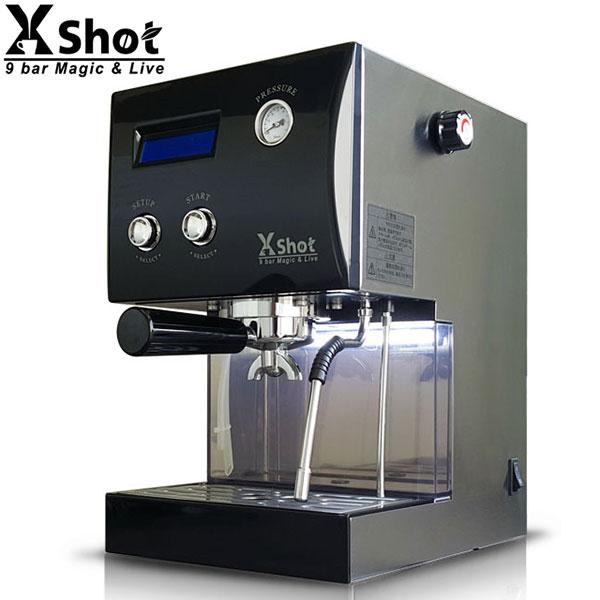 取寄品/日付指定不可 多機能エスプレッソマシン &ドリップマシン X Shot (黒)