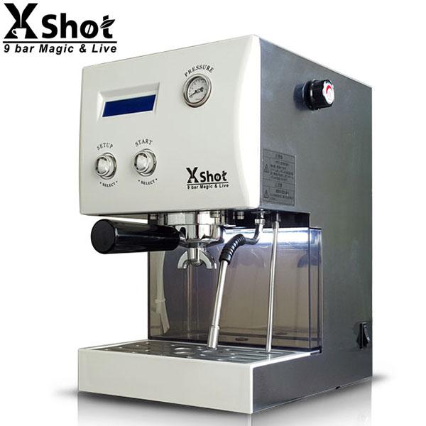 取寄品/日付指定不可 多機能エスプレッソマシン &ドリップマシン X Shot (白)