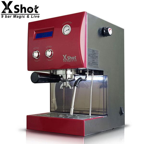 取寄品/日付指定不可 多機能エスプレッソマシン &ドリップマシン X Shot (赤)