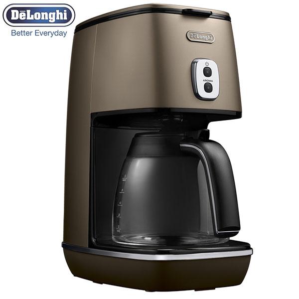 【送料無料】 デロンギ ディスティンタ コーヒーメーカー フューチャーブロンズ ICMI011J-BZ