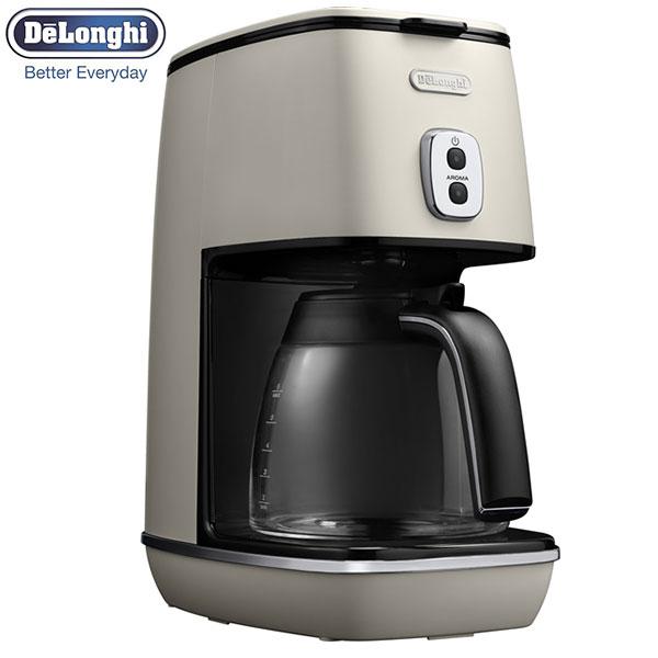 【送料無料】 デロンギ ディスティンタ コーヒーメーカー ピュアホワイト ICMI011J-W