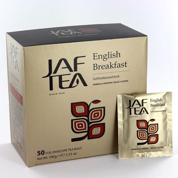 JAF TEA ジャフティー イングリッシュ ブレックファスト ティーバッグ 2g×50TB
