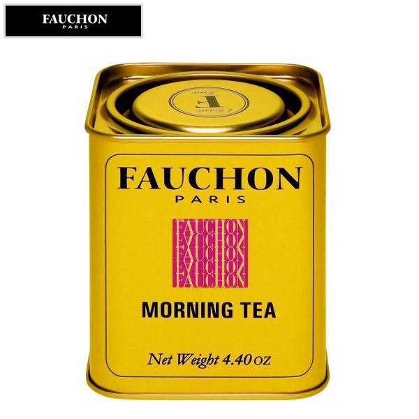 FAUCHON 百貨店 倉 フォション モーニング 125g リーフティー 缶入り 紅茶
