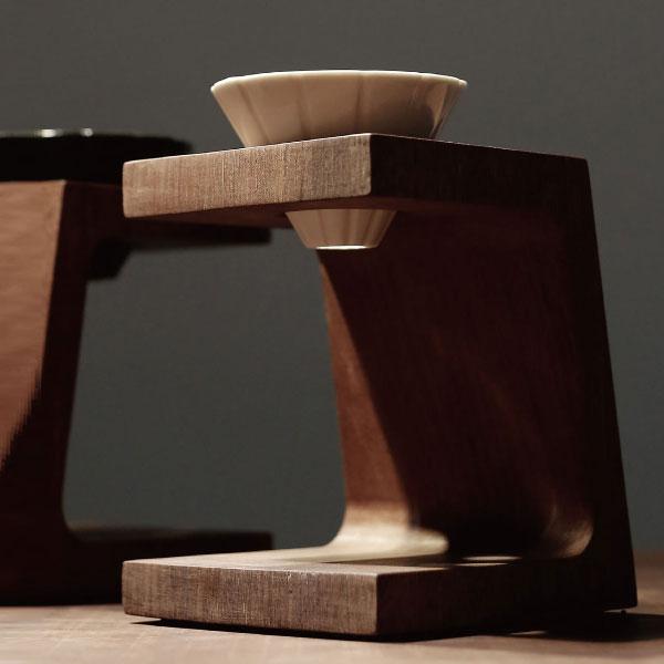 biduhaev BDH001 コーヒースタンド 送料無料 在庫限り Coffee stand ウーデンカーブ ビードゥハブ WoodenCarve