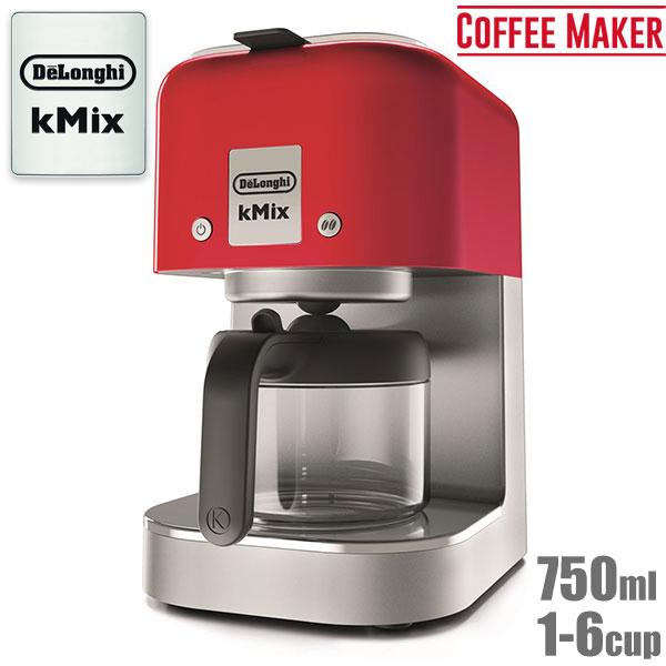 デロンギ ケーミックス ドリップコーヒーメーカー スパイシーレッド COX750J-RD 【送料無料】