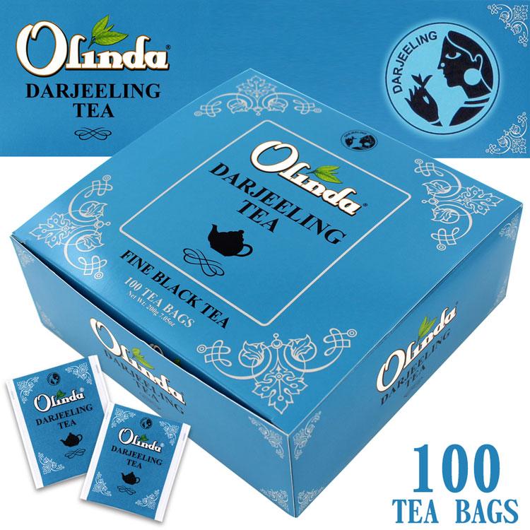 【紅茶】 オリンダ ダージリン 100TB (ティーバッグ)
