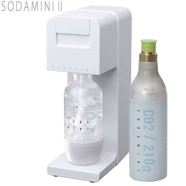 炭酸メーカー SODA MINI II ソーダミニ2 ホワイト SM1004