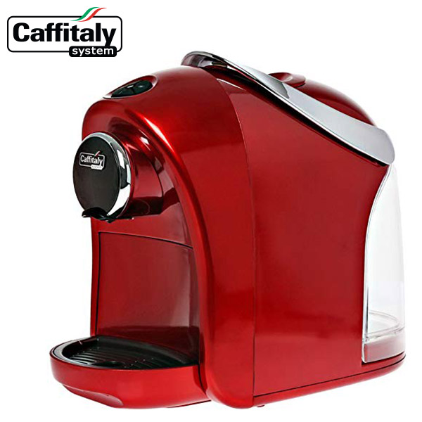 レッド S12 Caffitaly カフィタリー カプセル式 コーヒーメーカー 家庭用