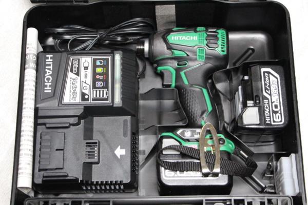 【 新品 】 WH14DDL2(2LYPK)(L):TOOL-GYM 店 KOKI]14.4V-6.0Ahインパクト 日立工機[HITACHI -DIY・工具