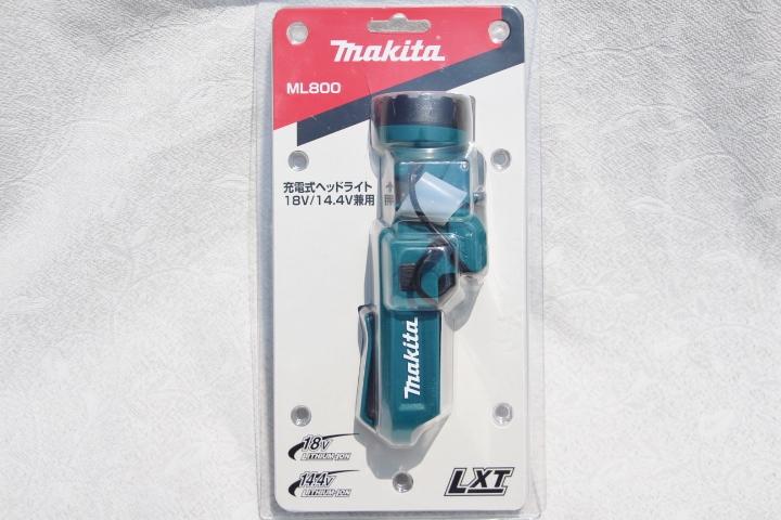 本体のみ [再販ご予約限定送料無料] マキタ 誕生日プレゼント makita 充電式ヘッドライトML800 本体