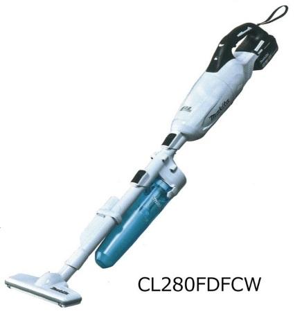 マキタ 18V充電式クリーナー CL280FDFCW (白) サイクロン付