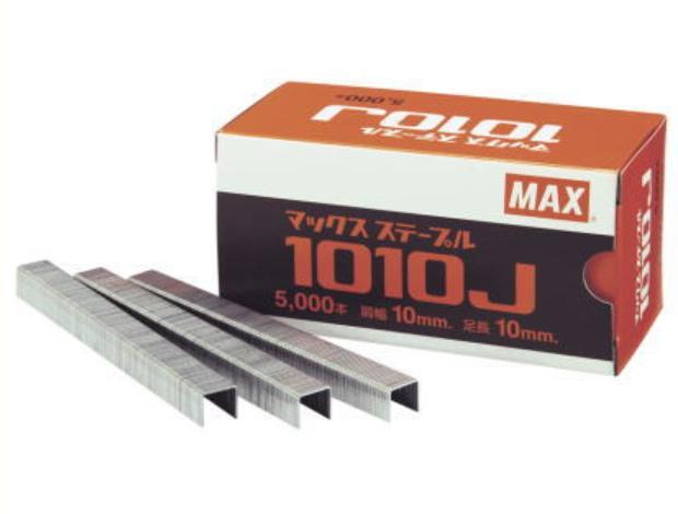 マックス 10Jステープル 1008J-S 5箱×6