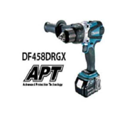 マキタ 18V-6.0Ah 充電式ドライバドリル DF458DRGXバッテリ・充電器付