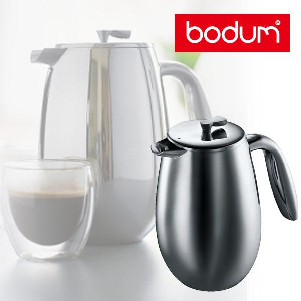 ● bodum ボダム COLUMBIA コロンビア ダブルウォール フレンチプレスコーヒーメーカー 0.35L 1303-16 【キッチン おしゃれ インスタ映え 人気 ギフト プレゼントとして】
