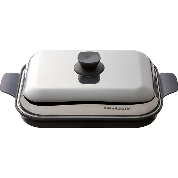 ● Vita Craft ビタクラフト グリルパン 3001 【家食 内食 巣篭もり 在宅勤務 テレワーク応援 外出自粛応援 キッチン おしゃれ インスタ映え 人気 ギフト プレゼントとして】