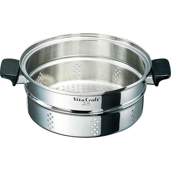 ● Vita Craft ビタクラフト 大蒸し器 3306 【キッチン おしゃれ インスタ映え 人気 ギフト プレゼントとして】