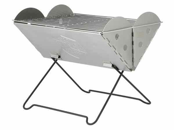 UCO ユーコ Flatpack Grill & Firepit フラットパックポータブル グリル&ファイヤーピット【アウトドア】【焚火】【BBQ】【コンパクト】