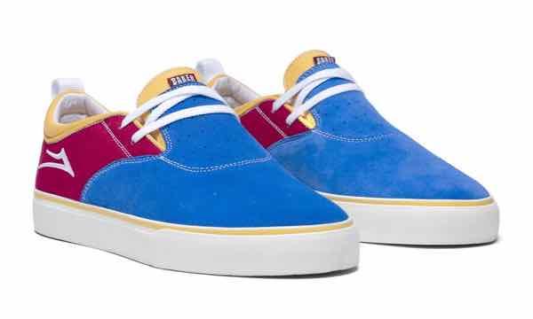 LAKAI x BAKER ラカイxベイカー RILEY 2 ライリー2 BLUE/RED/YELLOW【BMX】【SKATE】【スニーカー】