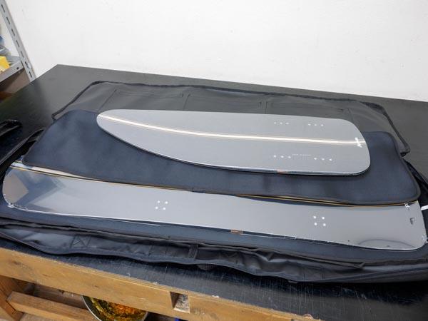 在庫商品最速発送 外したボードをブッシュ付きで保管できるボードケース 限定品 絶品 SASシステムとの相性は抜群 スノースクート ボードバッグ ボード保護 ケース