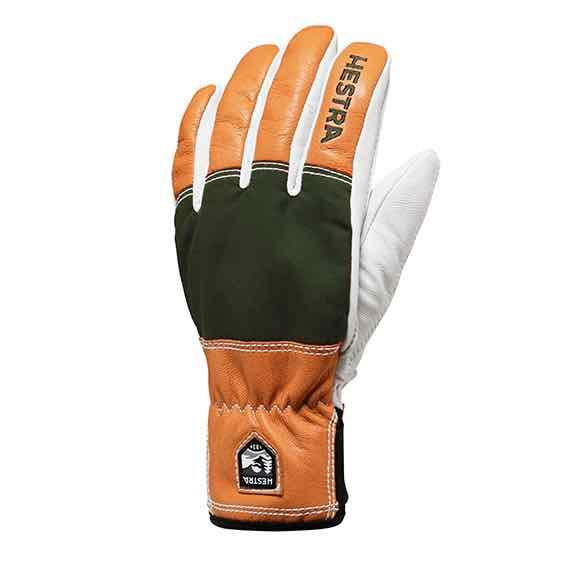 HESTRA ヘストラ グローブ 30770 Army Leather Abisko Green【レザー】【スキー】【スノースクート】