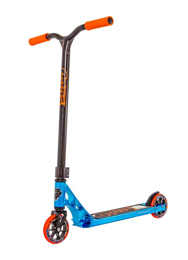 Grit Freestyle Scooter グリットフリースタイルスクーター 最新モデル FLUXX フラックス Blue/black ブルー/ブラック【キックボード】【キックスクート】【フリースタイル】【完成車】