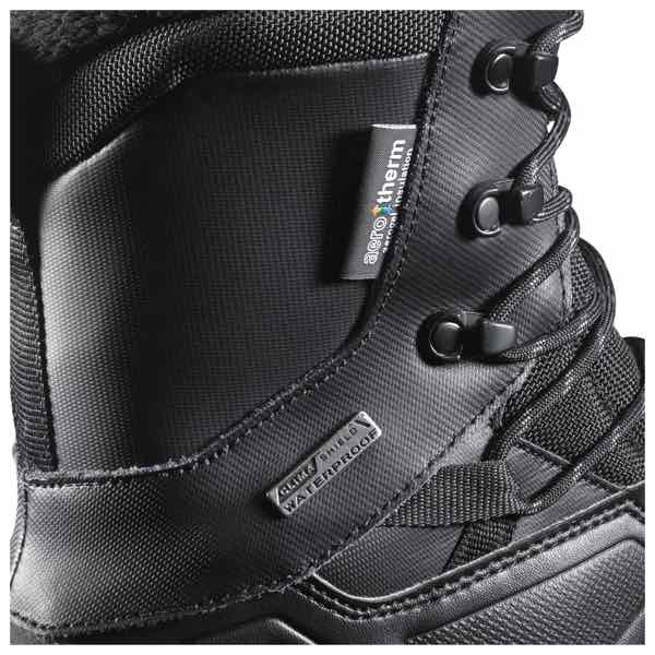 low priced 79ec4 9e1b1 Gained walking shoes SALOMON Salomon TOUNDRA PRO CSWP Tundra Pro CSWP MEN S  black