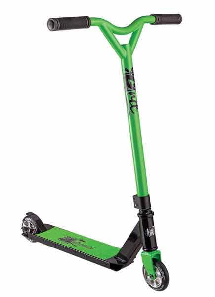Grit Freestyle Scooter グリットフリースタイルスクーター エントリーモデル Extremist エクストリミスト Black/Green【キックボード】【キックスクート】【フリースタイル】【完成車】
