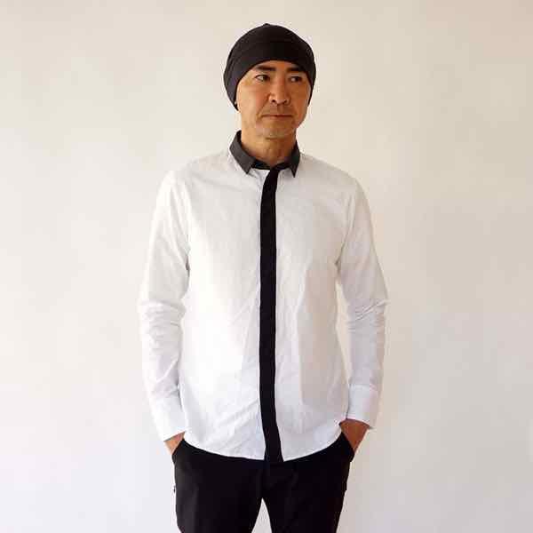 CCP シーシーピー JS-WA05 / カラースキームシャツ ホワイト x チャコール【シャツ】【自転車】