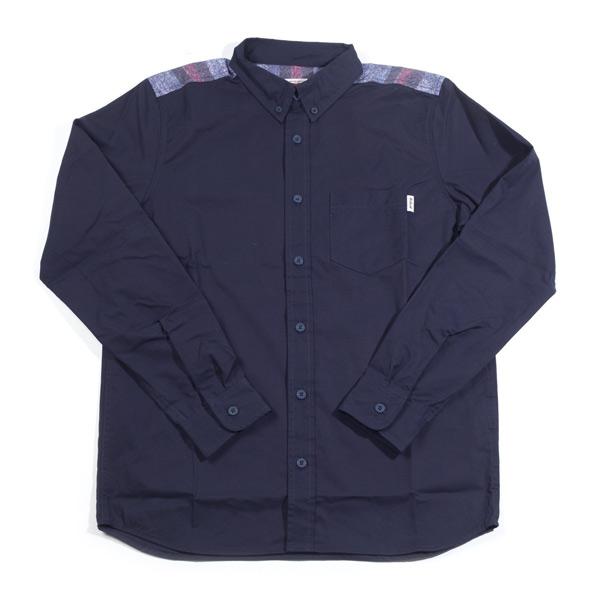 CAR HARTT カーハート シャツ L/S Bailey Shirt HTG DARK NAVY ネイビー【自転車】
